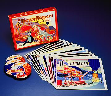 Horace Hopper's Musical Adventures Software in CD-ROM